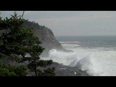 Monhegan, Hurricane Bill waves