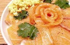 Une bonne recette de chirashi de saumon, pour mettre de la subtilité sur vos papilles!