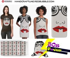 80s Design, Retro Girls, 80s Party, Retro Waves, Retro Dress, 80s Fashion, 1980s, Pop Art, Iphone Cases