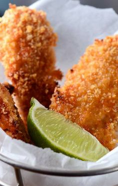Chipotle Lime Chicken Fingers