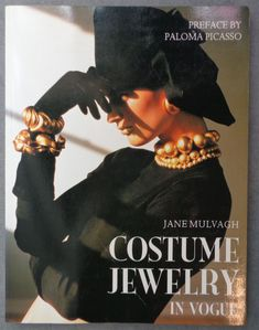 COSTUME JEWELRY In Vogue by Jane Mulvagh Paperback Book 1988