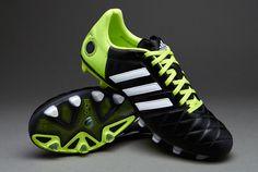 adidas 11Pro TRX FG - Black/White/Slime UK 9 #pdsmostwanted