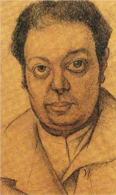 Diego María de la Concepción Juan Nepomuceno Estanislao de la Rivera y Barrientos Acosta y Rodríguez (1886-1957) - Self-Portrait