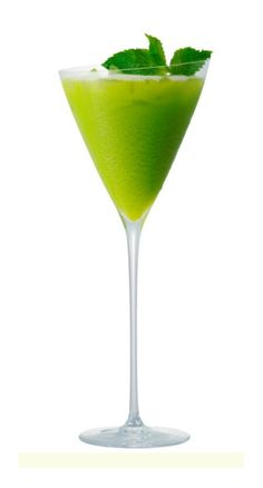 Dreaming of Zen :: Ingredients:        • 1 oz Zen Green Tea Liqueur      • 1/2 oz Midori Melon Liqueur      • 3 oz mango juice      • white pepper      • 2 oz cream      • mint leaves for garnish      • grated nutmeg for garnish   • Preparation: Pour the ingredients into cocktail shaker filled with ice.      Shake well.      Strain into a Champagne flute.      Garnish with a mint leaves and a dash of nutmeg.