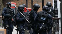 UK Armed Combat Police Unit
