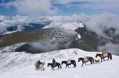 Заснеженный Алтай Россия, Фото, красота, Природа, длиннопост, Алтай, отдых, Интересное