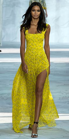 Diane von Furstenberg Runway Looks We Love: New York Fashion Week - Spring/Summer 2015 from #InStyle