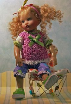 "Riley Kish Doll 8"" Handmade Outfit jdldollclothes.com"