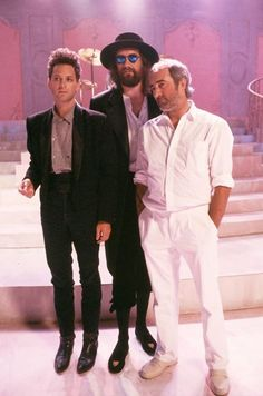 Lindsey Buckingham, Mick Fleetwood & John McVie | Seven Wonders music video Photo: Neal Preston