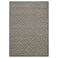 """Nourison Geometric Ladder Ultima Accent Rug - Ivory/Green (2'2""""X3'9"""")"""