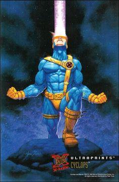 Cyclops ('95 Fleer Ultra X-Men)