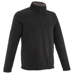 ce11e2714f23d GROUPE 3 Randonnée - Polaire Homme Forclaz 50 QUECHUA - Vêtements Homme  Noir