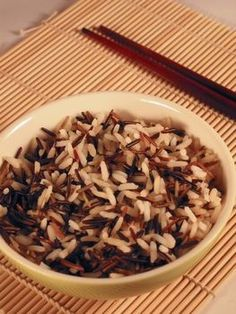 "Photo of wild rice from Cheap Plant-Based Meals You Can Make in 15 Minutes"" at Green Smoothie Girl. Wild Rice Recipes, Whole Food Recipes, Cooking Recipes, Cheap Vegetarian Meals, Vegetarian Recipes, Healthy Recipes, Sushi Recipes, Cooking Wild Rice, How To Cook Rice"