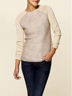 sparkle sweater
