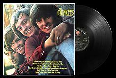 The Monkees - The Monkees Vinyl LP 1966 Mono 1st Press UK Album  RCA-RD - 7844