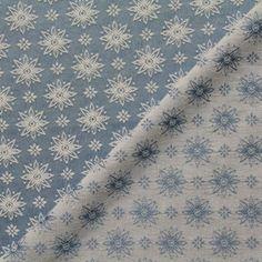 Tissu brodé Flore
