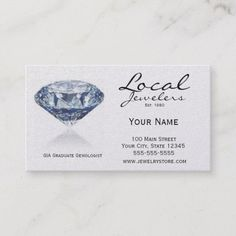 308 Best Jeweler Business Cards Images Business Cards Visit Cards
