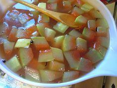 výhody kôry z melónu Cantaloupe, Salsa, Fruit, Ethnic Recipes, Food, Essen, Salsa Music, Meals, Yemek