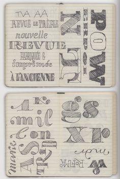 Jean-Baptiste Levee  (Source: Typography Sketchbooks)