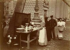 La Rambla.1900 Barcelona