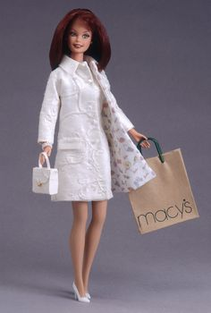 Nicole Miller City Shopper Barbie Doll - 1996 Collectible Designer Dolls - Nicole Miller - Barbie Collector