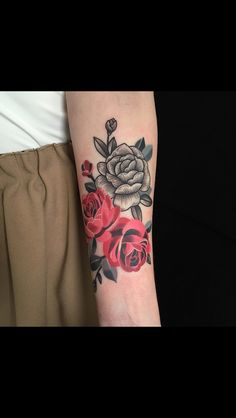 Sasha unisex rose dream tatt