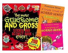 Deal of the Week - Horrid Henry Horrifies Triple Treat, Buying Books Online, Book Activities