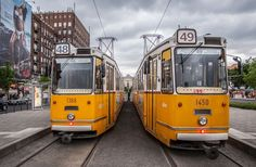 Budapest tram Photo by Roman Safiyulin -- National Geographic Your Shot