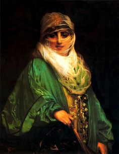 Jean-Leon Gerome - The Woman of Constantinople WikiPaintings.org