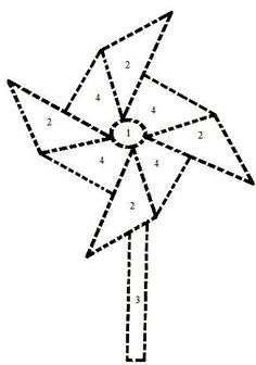 easy, printable pinwheel pattern angelstreetmom-pinwheels