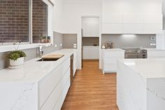 Creating luxury designer kitchen markeovers using quality fixtures and fittings. Call our kitchen designers in our Melbourne office on 9798 Butler Pantry, Custom Cabinets, Cabinet Design, Joinery, Benches, Kitchen Design, Waterfall, Custom Design, New Homes