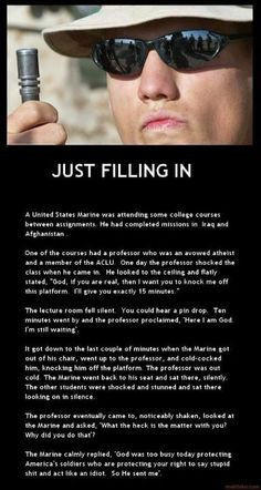 """Just filling in.""  Love this story."