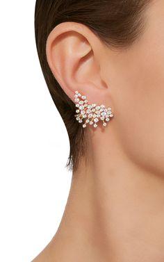 Hueb 18K Yellow Gold Luminus Earrings