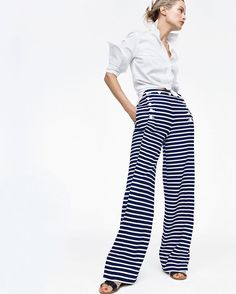 A statement stripe. (Shop the sailor pant in striped chino and our new  arrivals 45ee64d0dc1