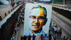 """""""Pope Francis has lifted a ban on the beatification of murdered Salvadoran Archbishop Oscar Romero. For years, the Roman Catholic Church blocked the process because of concerns that he had Marxist ideas. An outspoken critic of the military regime during El Salvador's bloody civil war, Archbishop Romero was shot dead while celebrating Mass in 1980...""""."""