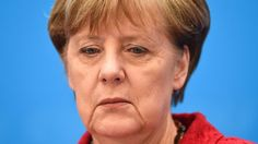 """German Chancellor Angela Merkel says her party had a """"difficult day"""" after right-wingers made gains in state elections."""