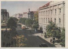 Vilnius, Lithuania, Gediminas pr (ex Stalin pr), 1956. http://www.eventumgroup.lt/eng/News/index/