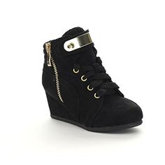 LINK PEGGY-53K Children Girl's Comfort Lace Up Hidden Wedge Sneakers, Color:BLACK, Size:2 M US Little Kid Link http://www.amazon.com/dp/B011DLWOQW/ref=cm_sw_r_pi_dp_P18qwb1YZ15XQ