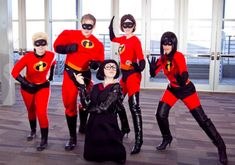 Put on your creative hat as you check out these spooky Halloween Group Costumes; Perfect group Halloween costume for the office groups and frineds groups. Superhero And Villain Costumes, Disney Group Costumes, Diy Superhero Costume, Family Costumes, Funny Group Costumes, Halloween Costumes For Work, Homemade Halloween Costumes, Cute Costumes, Super Hero Costumes