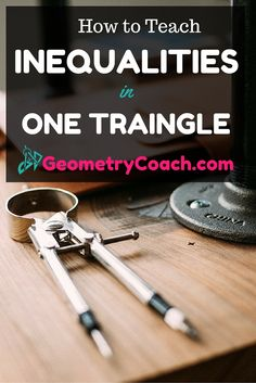 I found some good worksheets to help me teach my geometry lesson on Inequalities in One Triangle. Click now to get this free Geometry lesson and join our Math Community for more free math printables - Geometry Lessons, Geometry Activities, Algebra Activities, Math Literacy, Math Class, Math Resources, Math Teacher, Geometry Help, Math 2