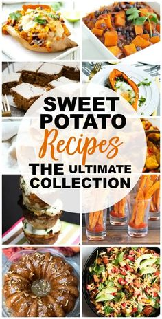 Sweet Potato Recipes You'll Love - Happy Healthy Mama Beef Recipes, Veggie Recipes, Dinner Recipes, Sweet Potato Recipes Healthy, Healthy Snacks, Clean Eating Dinner, Clean Eating Recipes, Potato Dishes, Vegetable Side Dishes