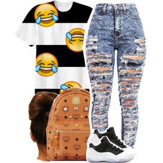 8/3 by clickk-mee on Polyvore featuring polyvore fashion style MCM