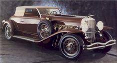 1935 Duesenberg Model J Victoria Convertible (Body by Rollston)