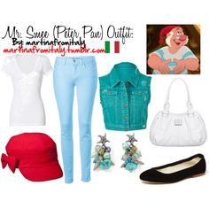 """""""Mr. Smee (Peter Pan) Outfit"""" by martinafromitaly on Polyvore"""