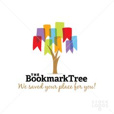 brightly colored bookmark leaves cling to a tree. Each bookmark leaf is unique…