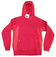 Ferrari Puma Rossa Corsa Red Zip Up Hoodie Sweatshirt Hoodie New NWT Official  #Ferrari #Hoodie