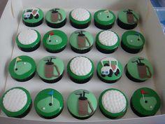 Simple Golf by Cheryl's Cupcakes, via Flickr #sport #golf