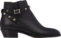 We Adore: The Rockstud Ankle Boots from Valentino at Barneys New York