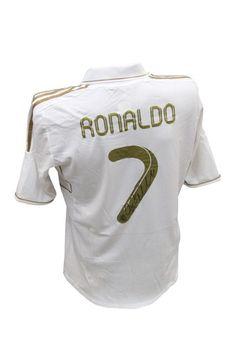 Unique Sports Memorabilia...  Cristiano Ronaldo Signed Real Madrid Jersey - HauteLook