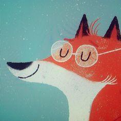 Lydia Nichols : Fox Illustration
